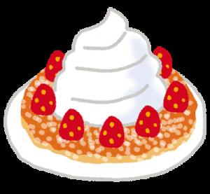 イチゴパンケーキ