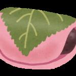 桜餅は関西では道明寺、関東では長命寺!葉は食べてもいいの?